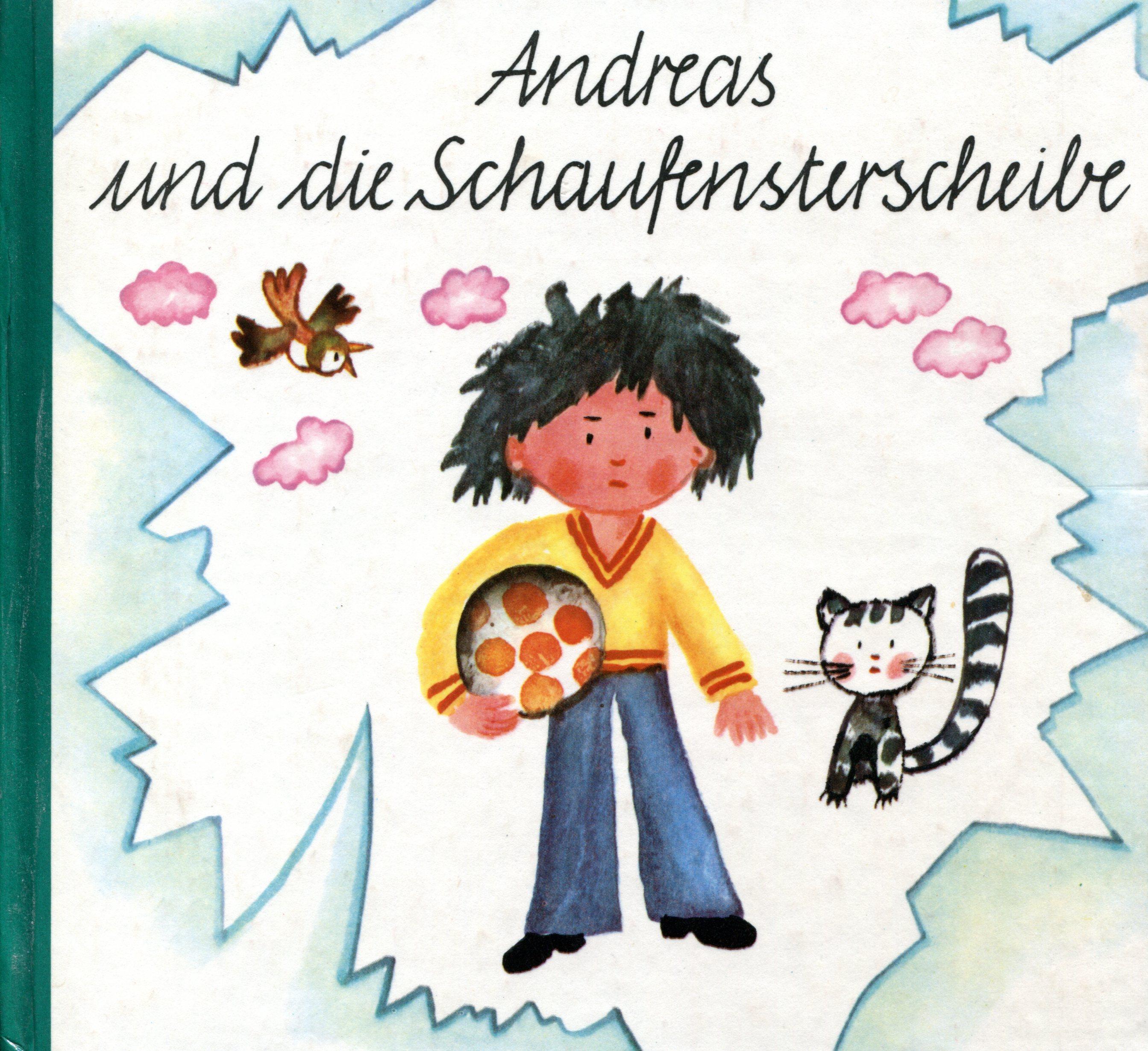 Andreas und die Schaufensterscheibe