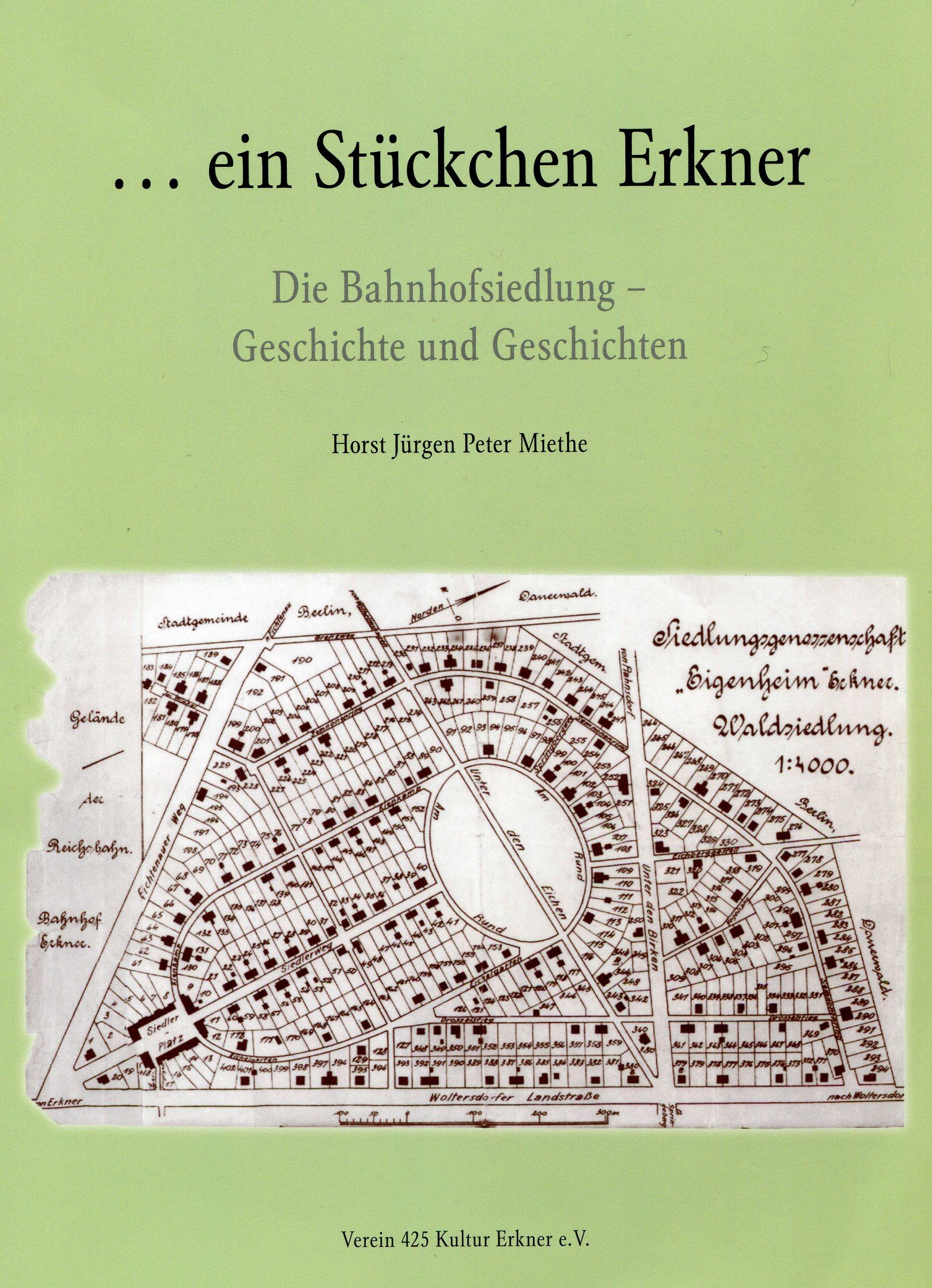 Broschüre Bahnhofsiedlung Erkner